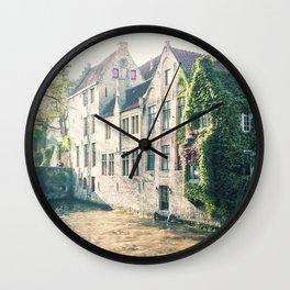 Brussels Wall Clock