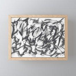 Mandarin Distorted Framed Mini Art Print