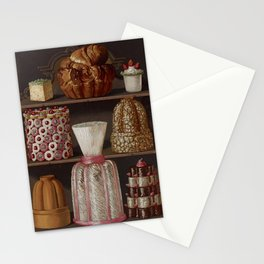 French 1873 Culinary Lithograph pastry confectionery Stationery Cards