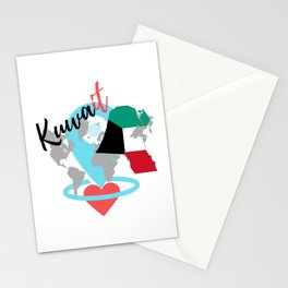 Love Kuwait Stationery Cards