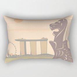 Singapore Rectangular Pillow