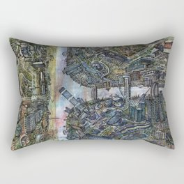 Tselinograd - Astana - Inception Rectangular Pillow