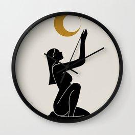Lunar Rituals II Wall Clock