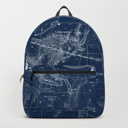 Capricorn sky star map Backpack