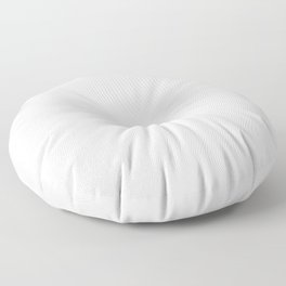 Classic White - Pure And Simple Floor Pillow