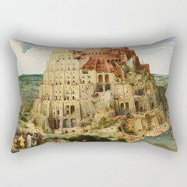 Tower Of Babel Pieter Bruegel The Elder Rectangular Pillow