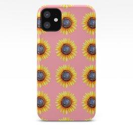 Sunflower Burst iPhone Case