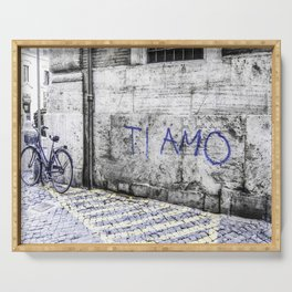 Ti Amo - Streets of Rome Serving Tray