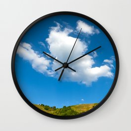 THE AHR VALLEY 02 Wall Clock