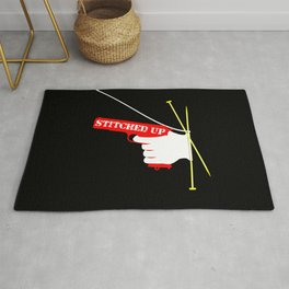 Stitched Up Rug