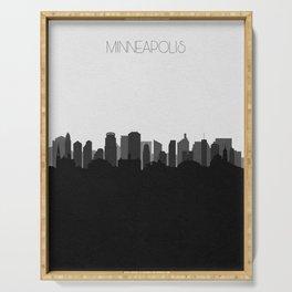 City Skylines: Minneapolis (Alternative) Serving Tray