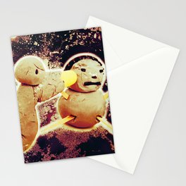 The Clay Attack Stationery Cards