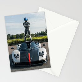 Pagani Zonda 5 Stationery Cards