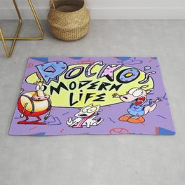 Rocko and Family Rug