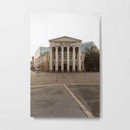 Public theatre in Subotica, Serbia / Autumn / Fall Metal Print