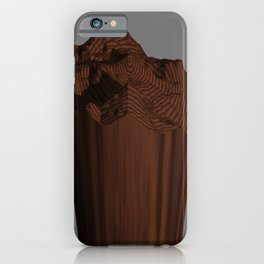HF Cliff POV Ray Tracing iPhone Case