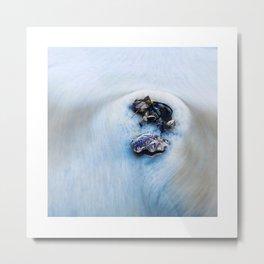 Shells in the waves 2 Metal Print