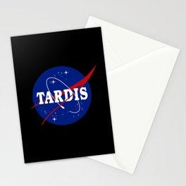 Tardis NASA Parody Stationery Cards