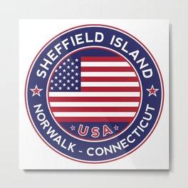 Sheffield Island, Norwalk, Connecticut Metal Print