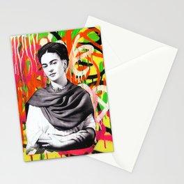 Frida Kahlo | Graffiti Street Artwork Stationery Cards