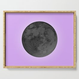 BLACK MOON + LAVENDER SKY Serving Tray