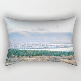 Reykjavik iceland Rectangular Pillow