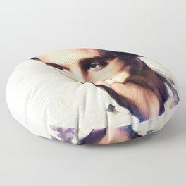 Elvis Presley, Music Legend Floor Pillow