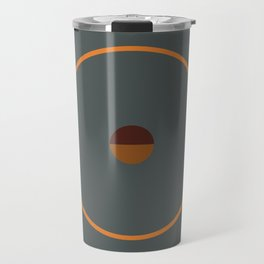 catch || anthracite & ocher Travel Mug