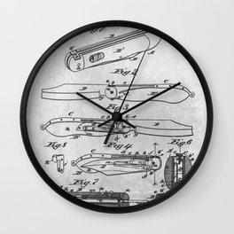 Clasp Knife Wall Clock