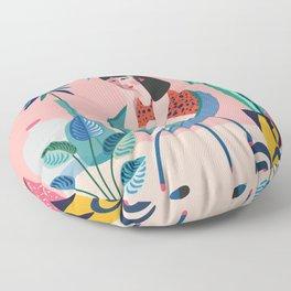 Plant lady ll Floor Pillow