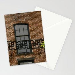 Savannah Warehouse Window Stationery Cards
