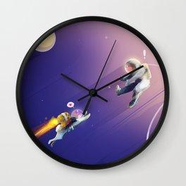 M83 - GO! Music Inspired Illustration Wall Clock
