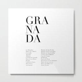 Granada Metal Print