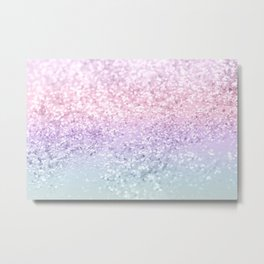 Unicorn Girls Glitter #1 (2019 Version) #shiny #pastel #decor #art #society6 Metal Print