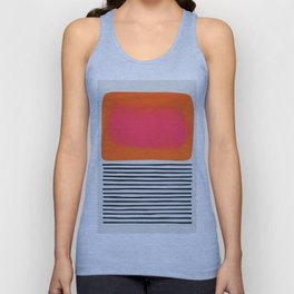 Sunset Ripples Unisex Tanktop