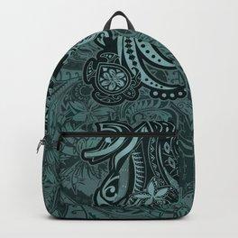Hawaiian - Samoan - Polynesian Slate Tribal Threads Backpack