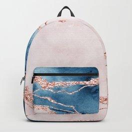 storm whipped sea I Backpack