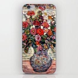 """Maurice Prendergast """"Flowers in a Vase (Zinnias)"""" iPhone Skin"""