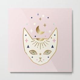 Magic Cat Metal Print