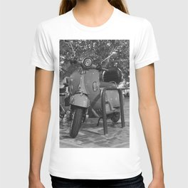 Vintage Scooter Bike T-shirt