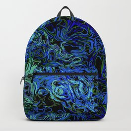 Supernova in blue and geen Backpack