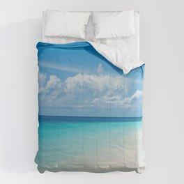 The Maldives' Blue Comforters