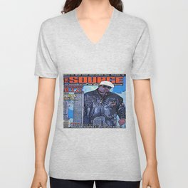 The source cover number 70 The Notorious B.I.G. Unisex V-Neck
