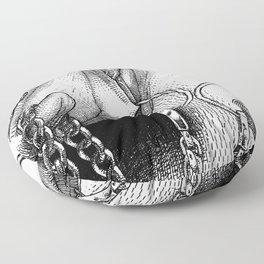 asc 479 - Le ménage à trois (Until death do us part) Floor Pillow