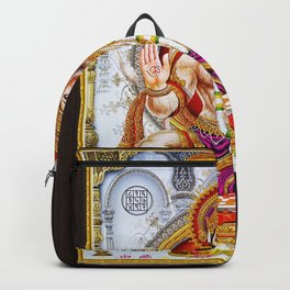 Hindu Hanuman Monkey God 5 Backpack