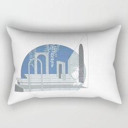 sky ruins Rectangular Pillow