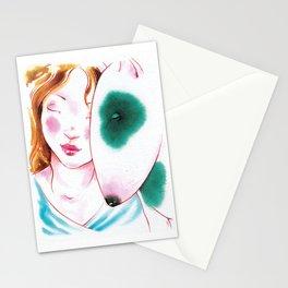 Girl Dog 02 Stationery Cards
