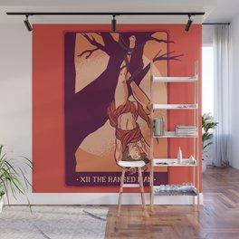 Tarot Hanged Man Wall Mural