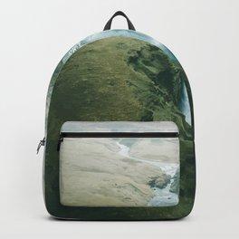 Skogafoss Waterfall, Iceland Travel Artwork Backpack