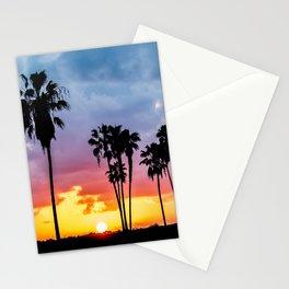 Mission Bay Sunset (blue, pink, orange) Stationery Cards